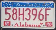 ALABAMA 2009 STARS