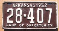 ARKANSAS 1952