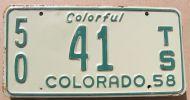 COLORADO 1958 TRAILER