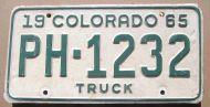 COLORADO 1965 TRUCK
