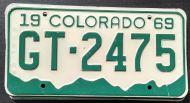 COLORADO 1969 - A
