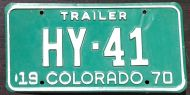 COLORADO 1970 TRAILER