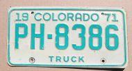 COLORADO 1971 TRUCK - A
