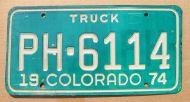 COLORADO 1974 TRUCK