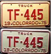 COLORADO 1975 TRUCK PAIR