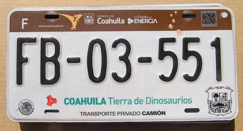 COAHUILA 2017 TRUCK