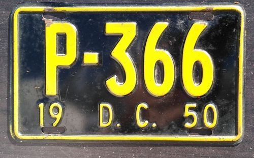 WASHINGTON DC 1950