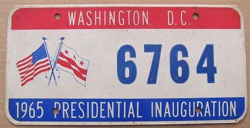 WASHINGTON DC 1965 INAUGURATION