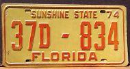FLORIDA 1974 - A