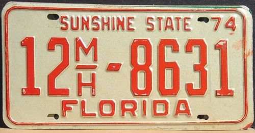 FLORIDA 1974 MOBILE HOME