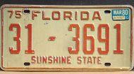 FLORIDA 1980 ORANGE