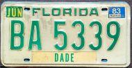 FLORIDA 1983 TRUCK