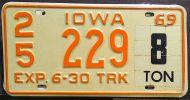 IOWA 1969 HALF YEAR TRUCK