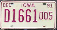 IOWA 1991 DEALER