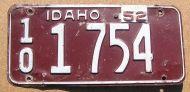 IDAHO 1952