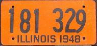 ILLINOIS 1948 - B