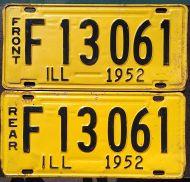 ILLINOIS 1952 TRUCK PAIR