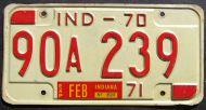 INDIANA 1970-1971