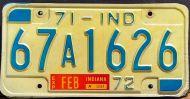 INDIANA 1971-1972