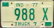 INDIANA 1977 TRUCK