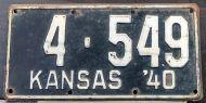 KANSAS 1940