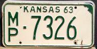 KANSAS 1963 - B