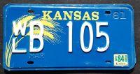 KANSAS 1984 BLUE