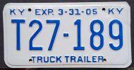 KENTUCKY 2005 TRUCK TRACTOR