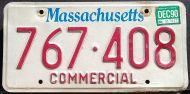 MASSACHUSETTS 1990 COMMERCIAL