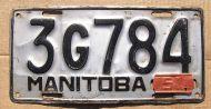 MANITOBA 1951