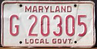 MARYLAND LOCAL GOVERNMENT