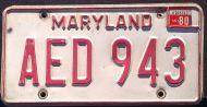 MARYLAND 1980