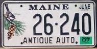 MAINE 2007 ANTIQUE AUTO