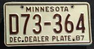 MINNESOTA 1987 DEALER