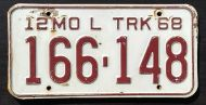 MISSOURI 1968 LOCAL TRUCK