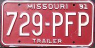 MISSOURI 1991 TRAILER