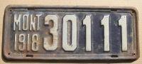 MONTANA 1918