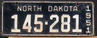 NORTH DAKOTA 1951
