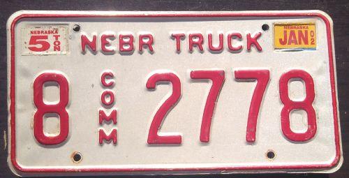 NEBRASKA 2002 TRUCK