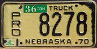 NEBRASKA 1971 PRORATE TRUCK