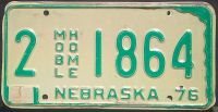 NEBRASKA 1977 MOBILE HOME