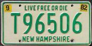 NEW HAMPSHIRE 1982 TRAILER