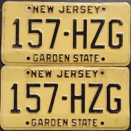 NEW JERSEY 1978 PAIR