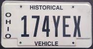 OHIO HISTORICAL VEHICLE