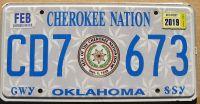 OKLAHOMA 2019 CHEROKEE NATION
