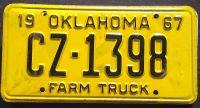 OKLAHOMA 1967 FARM TRUCK