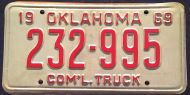 OKLAHOMA 1969 COMMERCIAL TRUCK