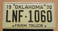 1970 OKLAHOMA FARM TRUCK