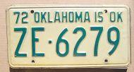 1972 OKLAHOMA - A