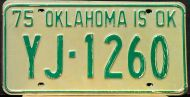 OKLAHOMA 1975